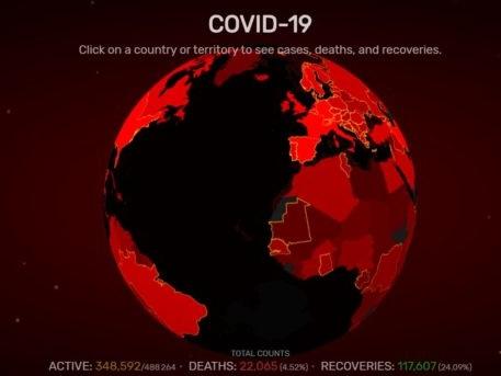 Coronavirus: La pandémie progresse, le monde se confine