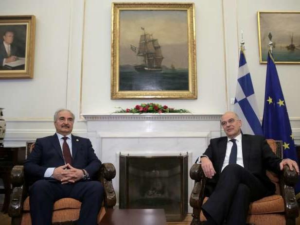 Le maréchal Haftar cherche un soutien à Athènes avant la conférence de Berlin