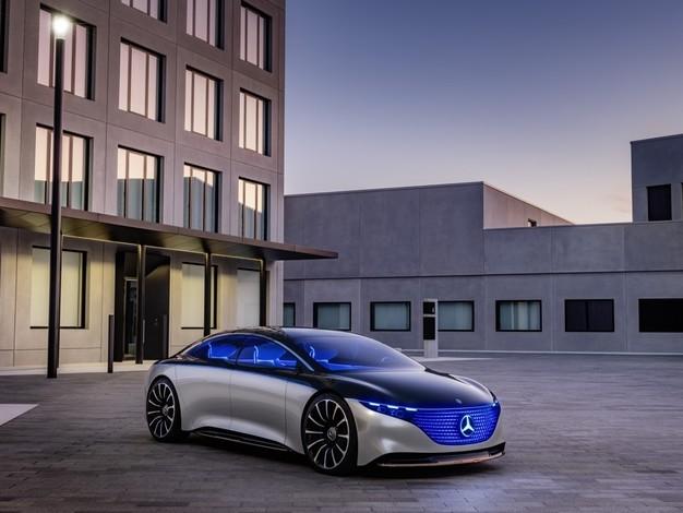 Salon de Francfort 2019 - Mercedes Vision EQS : luxueuse et branchée