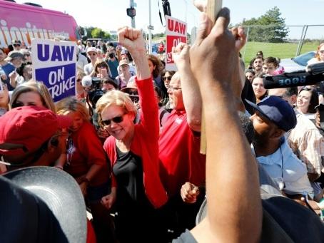 USA: Warren rattrape Biden dans la primaire démocrate