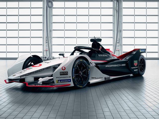 Porsche 99X Electric, les photos de la voiture engagée en Formule E