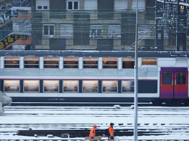 Neige et verglas à Paris: le trafic SNCF et RATP et les prévisions météo en Ile-de-France