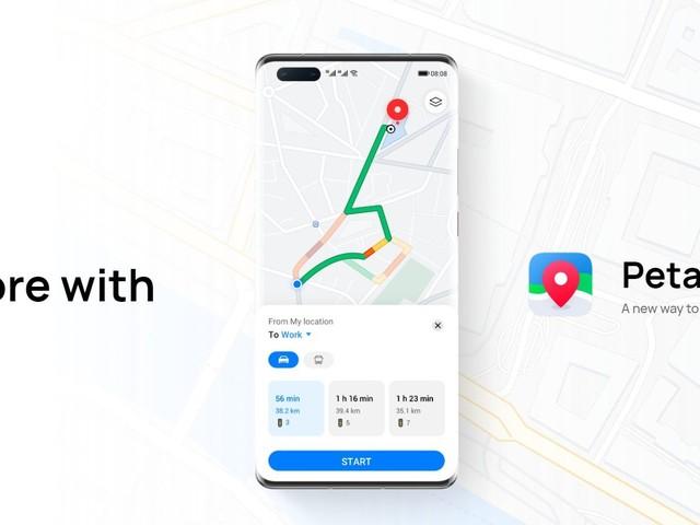Huawei lance Petal Maps et transforme Petal Search en une alternative à Google Lens