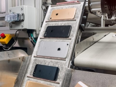 Avec Daisy, Apple recycle ses iPhone