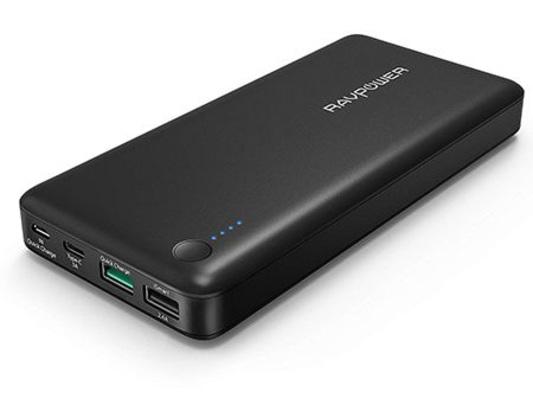 Test : RAVPower Turbo+ 20100 mAh: une bonne capacité et beaucoup d'USB