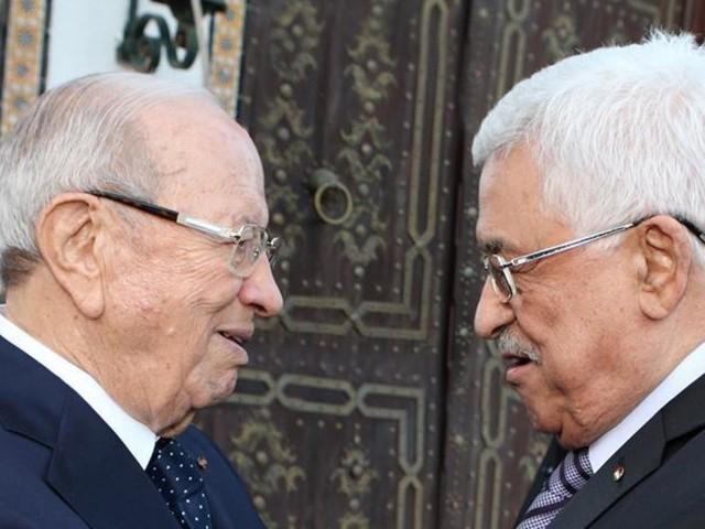 "Caïd Essebsi à Abbas: ""La volonté du peuple palestinien triomphera à la fin"""