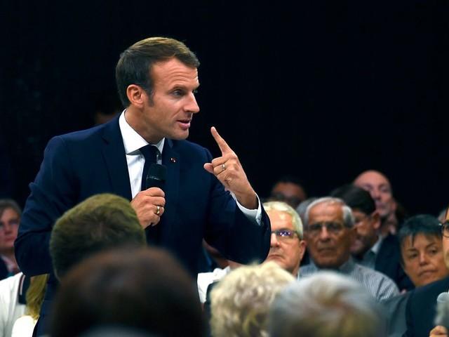 """Avant ses voeux pour 2020, Macron rattrapé par cette """"archive cruelle"""""""
