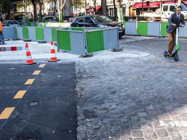 Des chantiers de travaux publics seront retardés à la rentrée, faute de bitume