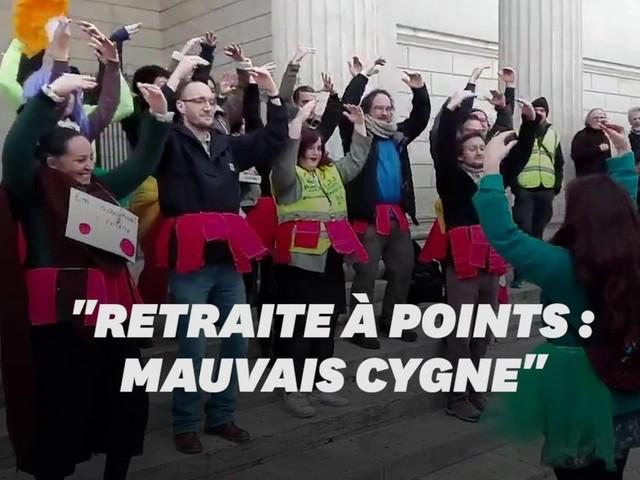 Les danseuses de l'Opéra de Paris ont inspiré ces enseignants grévistes