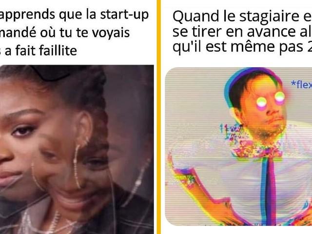 Top 15 des memes drôles sur le monde du travail, par Neurchi de flex