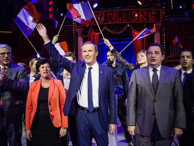 Elections européennes : Nicolas Dupont-Aignan prend la tête de sa propre liste