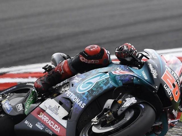 Moto GP : déception pour le Français Fabio Quartararo