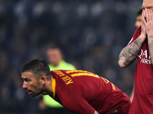 Foot - ITA - Roma - AS Rome: déguisé, Daniele De Rossi a assisté au derby face à la Lazio