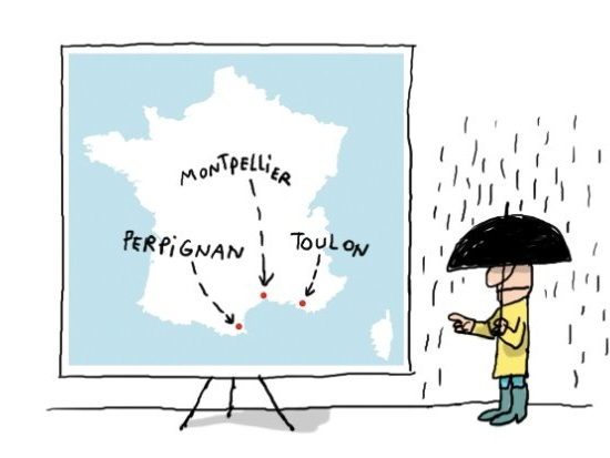 Pourquoi il y a souvent des inondations dans le Sud de la France ?