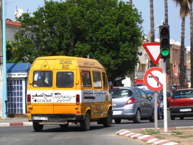 """""""Le danger jaune"""", transport d'élèves ou de marchandise scolaire?"""