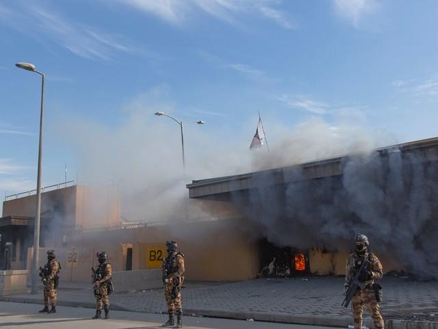 L'ambassade américaine à Bagdad touchée par des roquettes