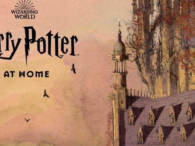 """""""Harry Potter home"""": le site de J.K. Rowling pour occuper les enfants"""