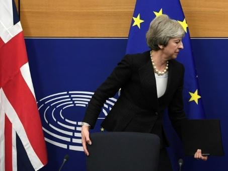 Moment de vérité pour l'accord de Brexit de Theresa May