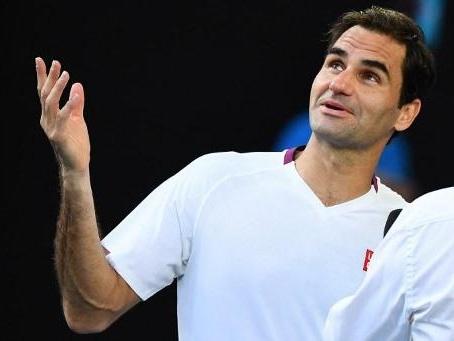 Amende de 3.000 dollars pour Federer après avoir juré lors de son match contre Sandgren