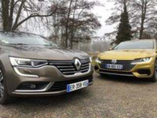 Comparatif Renault Talisman vs. Volkswagen Arteon : généralistes ou premiums ?