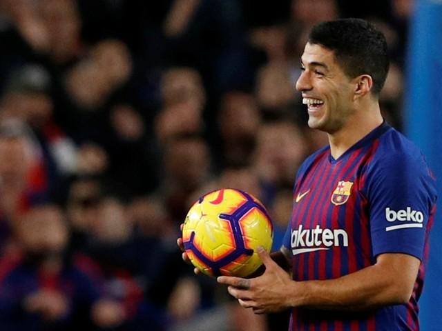 Barça: Entorse à la cheville pour Suarez