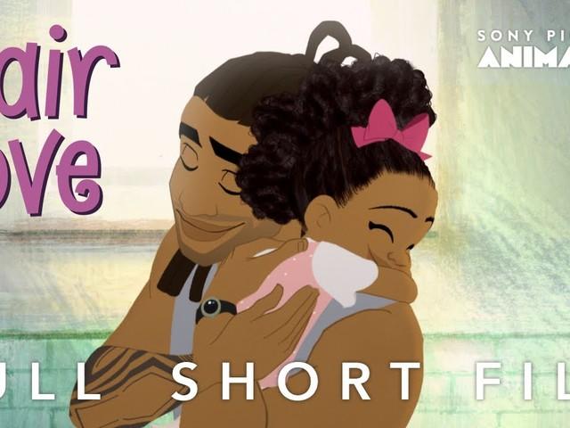 Hair Love, ce court-métrage qui raconte une touchante histoire avec une simple coupe de cheveux