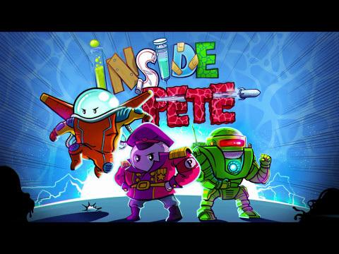 """""""Inside Pete"""" : défendez le corps de Pete contre une drôle d'invasion ennemie, dans un jeu iPhone, iPad décalé !"""