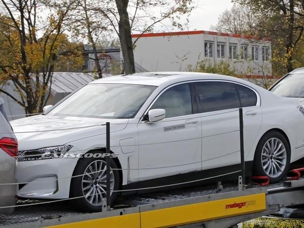 La BMW Série 7 surprise en version électrique