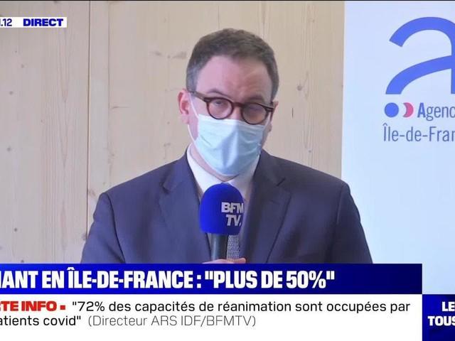 """""""On a une dynamique épidémique qui est forte"""", Aurélien Rousseau - 26/02"""