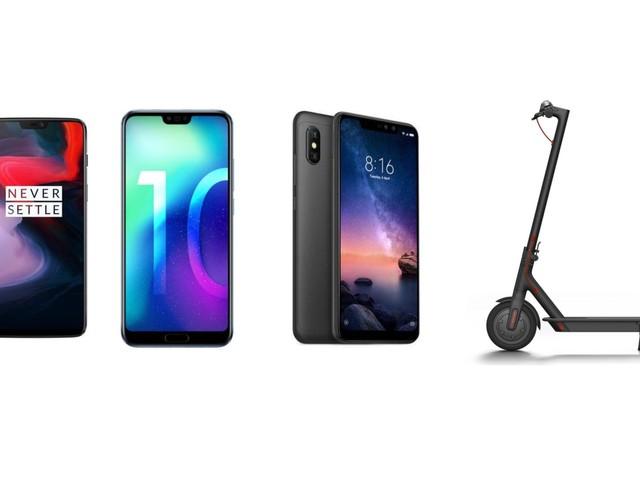 OnePlus 6T, Xiaomi Black Shark, Redmi Note 6 Pro, M365 Scooter… tous les bons plans du Cyber Monday de Gearbest