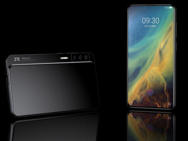 Le futur smartphone ZTE Axon S pourrait se glisser latéralement pour révéler ses caméras