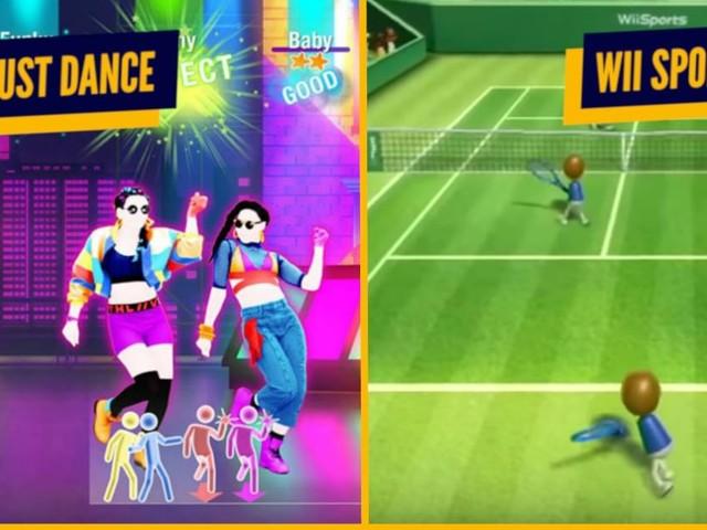 Top 7 des jeux vidéo qui font le plus suer, le sport devant ta télé