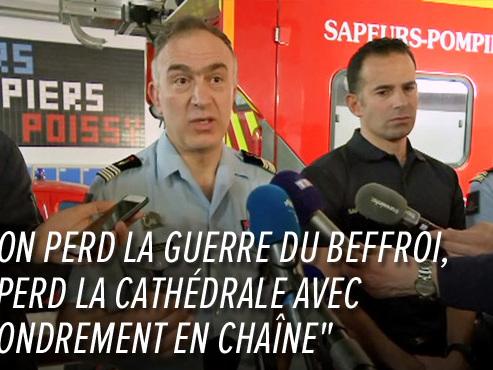 """Les pompiers de Paris dévoilent les dessous de l'incendie de Notre-Dame: """"Il a fallu faire un choix"""""""