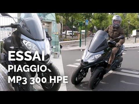 Essai scooter Piaggio MP3 300 HPE