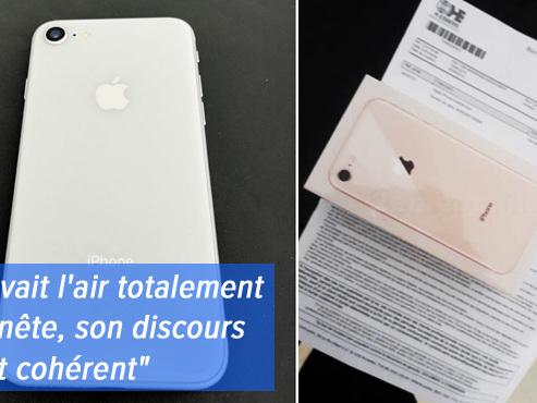 Alexis achète sur 2ememain un iPhone lié à l'abonnement Proximus de quelqu'un d'autre: que risque-t-il?