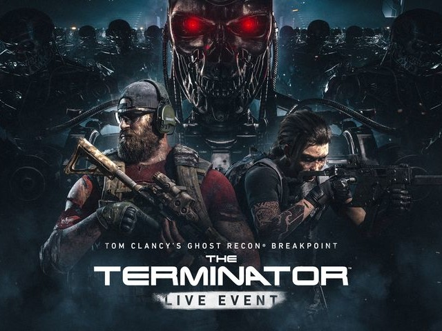 Le Terminator arrive dans Ghost Recon Breakpoint