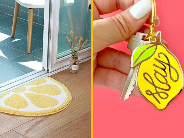 Top 30+ des objets pour les fans de citron, ceux qui ne craignent pas l'acidité