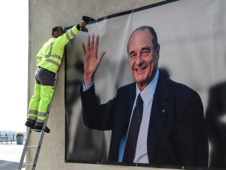 """Jacques Chirac """"entre dans l'Histoire"""", la France prépare son hommage"""