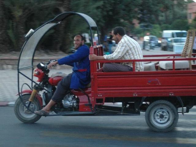 Maroc : les triporteurs interdits de transporter des passagers