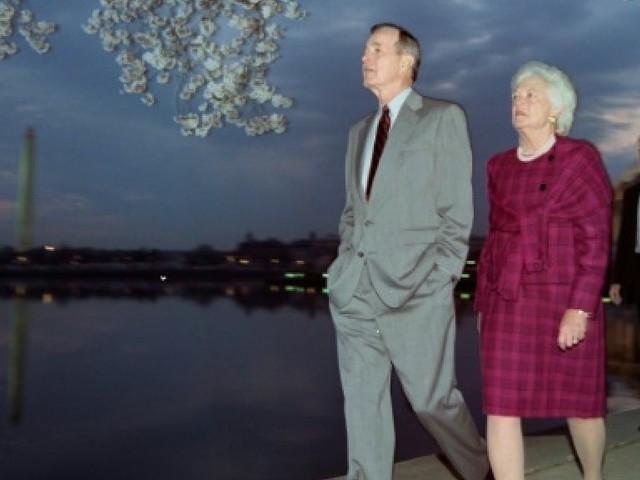 L'hommage de l'Amérique à Barbara Bush