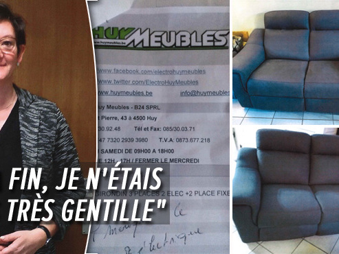 Huy Meubles en faillite après des pratiques douteuses: Nicolas ne verra jamais sa salle à manger à 1.000€, Murielle a reçu le mauvais salon