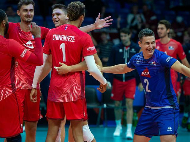 Euro-2021 de volley: les Français toujours invaincus après le test contre l'Allemagne