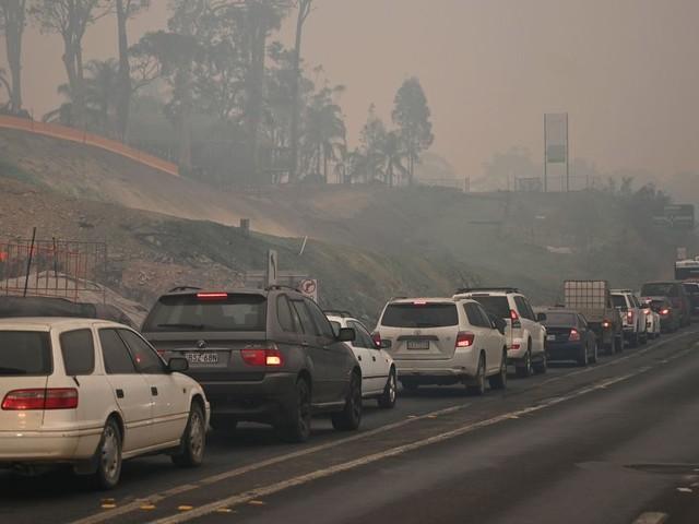 Face aux incendies, l'Australie évacue des milliers de personnes