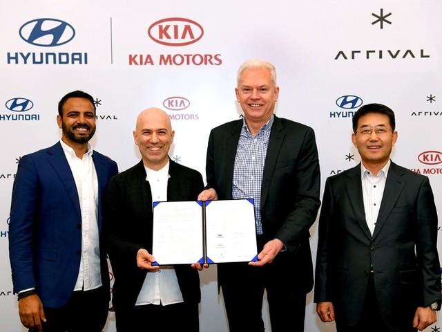 Hyundai-Kia s'associent à la start-up Arrival pour des utilitaires électriques