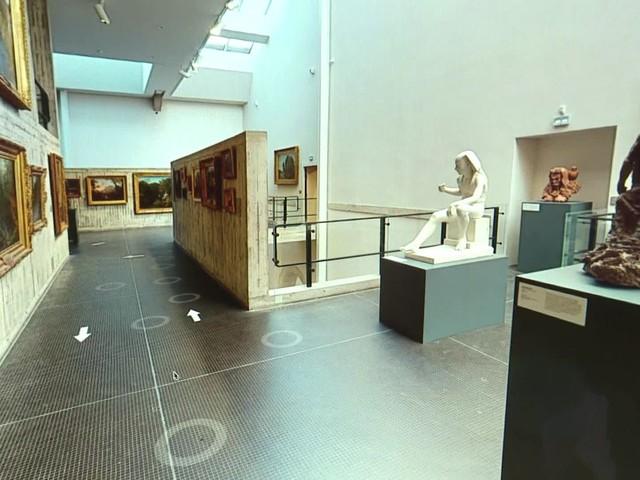 Le musée des Beaux-Arts et d'Archéologie de Besançon se visite désormais en ligne... grâce à un agent immobilier