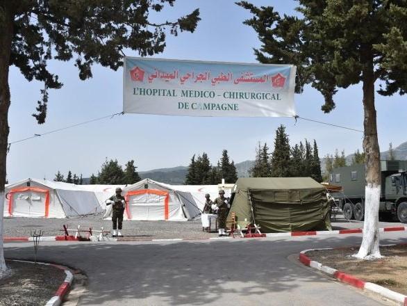 En Algérie, l'armée se prépare à venir «en soutien au système de santé national» - photos