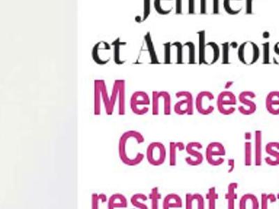 Jenifer, Ambroise, drame, menacés par la mafia corse