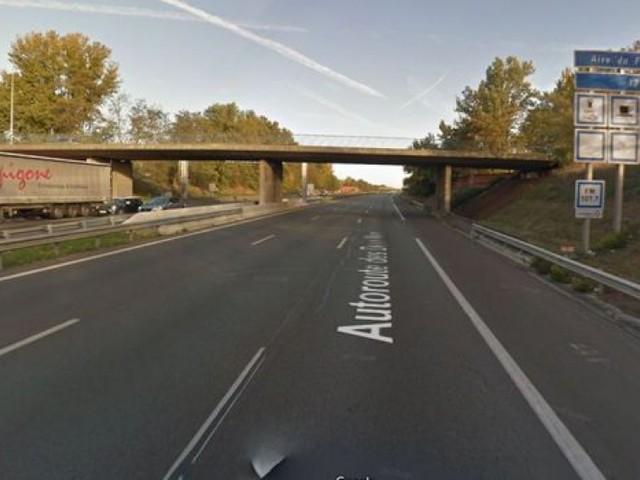 Toulouse. Bonbonnes de gaz jetées sur l'A62 depuis un pont: un suspect interpellé