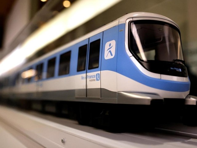 Le métro du Grand Paris s'expose, quatre ans avant son inauguration