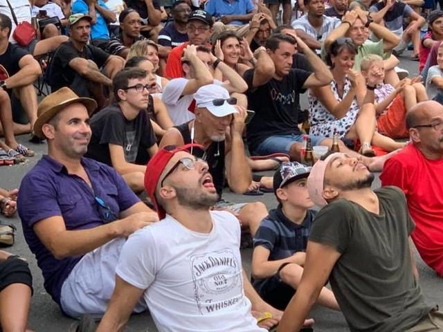 VIDEO et PHOTOS - JSSP vs Epinal : Fan zone et écran géant à Saint-Pierre